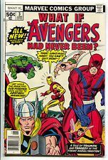 What If 3 1st Series Marvel 1977 VF Gil Kane Avengers Hulk Iron Man Thor Wasp