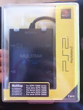 NEw OFFICIAL PS2 MULTITAP PLAYSTATION 2  ADAPTER MULTI TAP official scph  - 7000