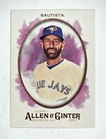 2017 Topps Allen and Ginter #196 Jose Bautista - NM-MT