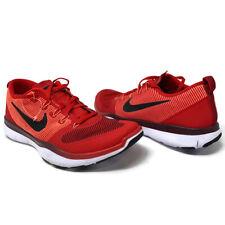 Nike Free Train Versatility Size 15 Training Red Black Shoes 833258-606