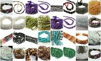 """1 Strand Natural Oval Smooth Plain Loose 3-12mm Gemstone Beads 13""""Inch Ebay Sale"""