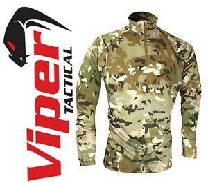 Viper Mesh-tech Armour Top Army Sweat Wicking Technical Long Sleeve T-Shirt VCAM
