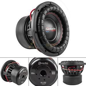 "American Bass 10"" Subwoofer Dual 2 Ohm 3000 Watts Max Car Audio Sub XFL Series"