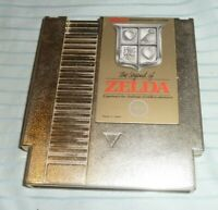 The Legend of Zelda NES Nintendo Authentic Gold Saves Cleaned Tested
