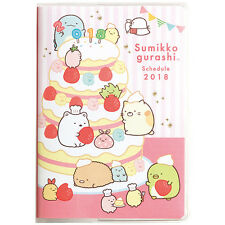 New SAN-X Sumikkogurashi 2018 Pocket Schedule Book Notebook Date Diary Japan