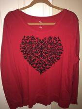Stule & Co Red Sweatshirt Womens L