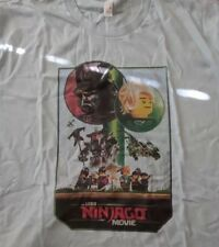 Lego Ninjago T - Shirt (L) San Diego Comic Con SDCC 2017 Exclusive Light Blue