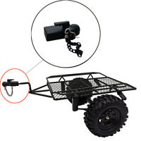 Metal Hitch Trailer Hook Für SCX10 90046 Traxxas TRX4 1:10 RC Crawler Auto 2019W