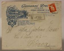 STORIA POSTALE REGNO BUSTA FRANCOBOLLO DA 1,75 LIRE ( IMPERIALE ) 1940 RO #SP566