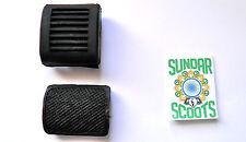 Noir Kick-Starter et pédale de frein arrière covers.suitable pour lambretta