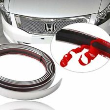 Car Door Chrome Protective Strip Molding Car Trim Universal Adhesive 15mm x15m
