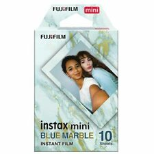 Fuji INSTAX mini BLUE MARBLE  Instant Film - Free UK Delivery
