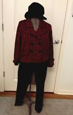WILLOW GUNCHECK DOUBLEBREASTED CROPPED BLAZER.NWT$148