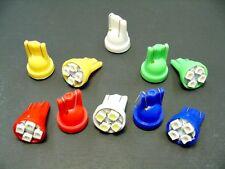 10 Asst AMC Bright 12V LEDs 194 T10 Wedge Instrument Panel Light Bulbs Lamps