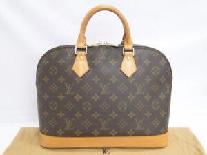 Louis Vuitton Hand Bag Alma M51130 Monogram Canvas Brown France 71170424300 K