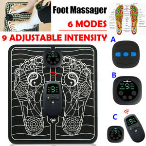 15 Level EMS Electric Foot Massager Pad Blood Circulation Muscle Stimulator Mat