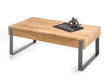 CARACAS Couchtisch Wohnzimmertisch Tisch 110x60 cm Eiche geölt mit Schubkasten