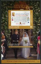 Young Island Gren St Vincent 2019 MNH Prince Harry Meghan 2v S/S Royalty Stamps