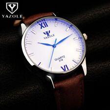 YAZOLE Blau Glas Handgelenk Uhr Männer Uhr Mode herren Uhr Wasserdicht Herren
