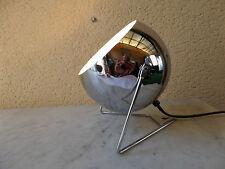 LAMPE APPLIQUE EYEBALL Design Moderne Style Vintage Métal Chromé NEUF 5 dispo.