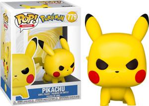 Pikachu Angry Crouching 779 Pokemon Funko Pop Vinyl New in Box