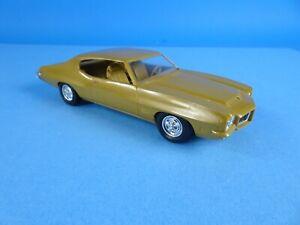 1971 Pontiac GTO Dealer promo car Quetzal Gold