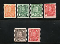 Canada - Unitrade # 178 - 183 MH (183 pulled/sht perf)  /    Lot 1219003
