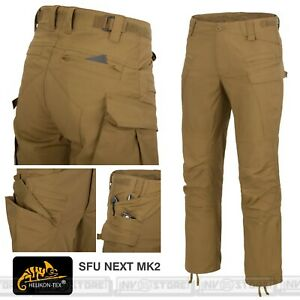 Pantaloni HELIKON-TEX SFU Next MK2 Pants Tattici Militari Outdoor Uomo COYOTE