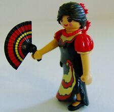 Playmobil serie 13 figura de bailarina de flamenco español