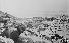 American First Aid Station Trenches World War 1, 6.5x4 inch Reprint Photo a
