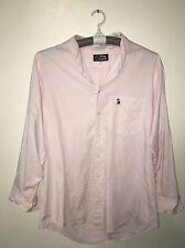 Disney Originals Mens Light Pink Mickey Mouse Longsleeve Shirt Size 16 (32/33)