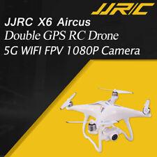 JJRC X6 Aircus 5G WIFI FPV 1080P Wide Angle Camera GPS Follow me Gimbal RC Drone