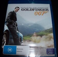 Goldfinger James Nond 007 (Sean Connery) (Australia Region B) Blu-ray New