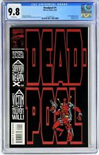 E113. DEADPOOL #1 Marvel CGC 9.8 NM/MT (1993) 1st Solo DEADPOOL Comic
