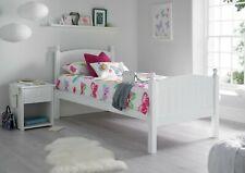 Modern Charleston Childrens White Wooden Single/3ft Bed Frame
