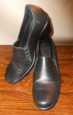DANSKO Raphael Black Calf Leather Comfort Heels Euro 42 US 11.5 / 12