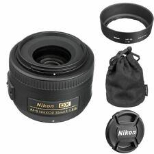 Cámara SLR Nikon AF-S Nikkor 35mm f/1.8G DX lente Para Digital cuerpo