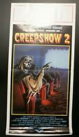 "Creepshow 2 1987 Italian Locandina Poster 28""x13"""