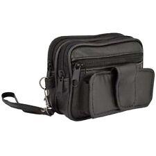 Cintura in Pelle Polso & Sacchetto, fotocamera telefono soldi cigarette Tobacco Occhiali Holder