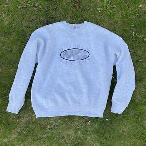Vintage Nike Bootleg Sweatshirt Men's Adult Medium Embroidered 80s 90s