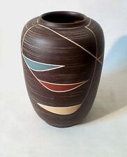 "50s Sawa Keramik ""239"" H 31 cm german mid mod ceramic Vase céramique annees 50"