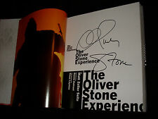 Oliver Stone signed The Oliver Stone Experience 1st printing hardcover book