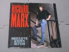 "Richard Marx:  Should've known Better   UK  7""   NM"