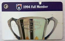 MCG 1994 AFL Carlton Football Club Adult Full Member Male Membership Ticket Card