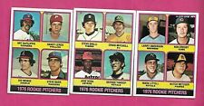RARE 3 X 1976 OPC ROOKIE PITCHERS  CARD (INV# C2083)