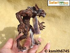 Safari WEREWOLF solid plastic toy fantasy mythical wolf animal man beast NEW