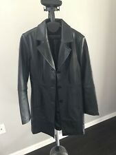 Chadwick's Black Leather Jacket Women's size 12  great shape