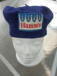 Vintage Hamm's Beer Wool Knit Cap