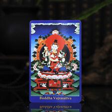 "3.4"" Tibet Tibetan Buddhism Exquisite painting Amulet thangka Vajrasattva"