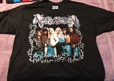 Vintage Original Nelson T-shirt 1990 XL Unworn Hair Band Glam Rock (E)